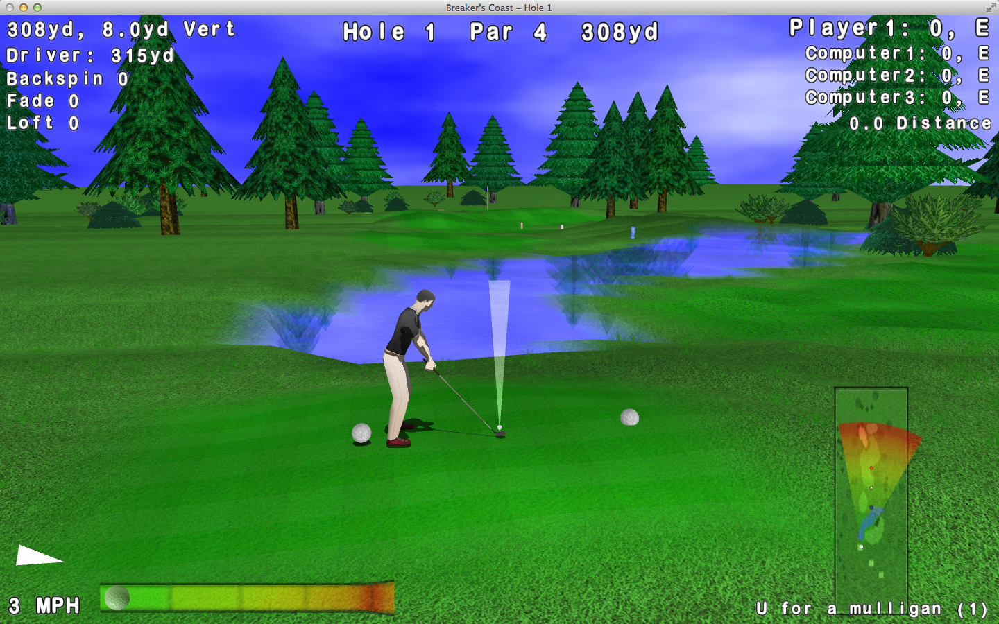 Leaderboard golf game review download and play free version!